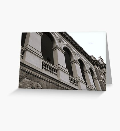 Supreme Court Architecture Greeting Card