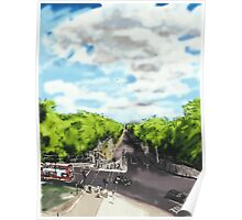 The View from the top of Wellington Arch Poster