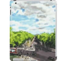 The View from the top of Wellington Arch iPad Case/Skin
