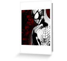 Spider-Man : Black & White  Greeting Card
