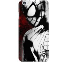 Spider-Man : Black & White  iPhone Case/Skin