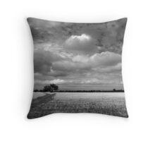 Scary Tree - Wilmington Wheat Field Throw Pillow