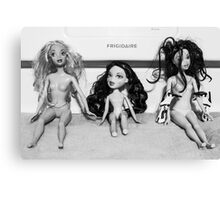 Frigid Dolls Canvas Print