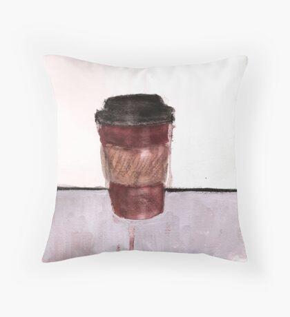 ToGo Cup Throw Pillow
