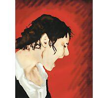 Screaming Self Portrait Photographic Print