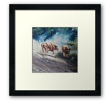 There You Are Son... Framed Print