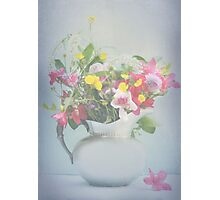 Spring Joy Bouquet Photographic Print