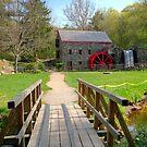 Wayside Inn Grist Mill in Sudbury, MA by Monica M. Scanlan