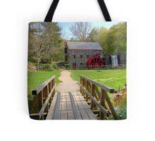 Wayside Inn Grist Mill in Sudbury, MA Tote Bag