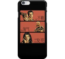 The Good, The Bad and The Shiny (Firefly / Serenity mashup) (Chinese variant) iPhone Case/Skin