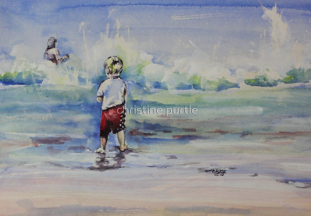 Beach Boy by christine purtle