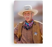 The Sheriff Canvas Print