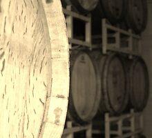 Oak wine barrals by shilohrachelle