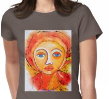 Saudades II Womens Fitted T-Shirt