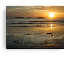Sunset at Norman Bay, Wilsons Promontory, Victoria Canvas Print