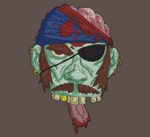 zombie pirate... by kangarookid