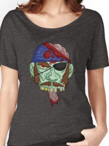 zombie pirate... Women's Relaxed Fit T-Shirt