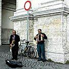 Rome Street Musicians by Dana Roper