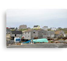 Salt Sea Air in Nova Scotia Canvas Print
