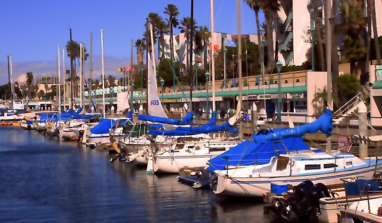 Redondo Beach Harbor 1115 by eruthart