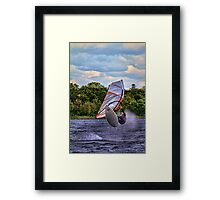 Spring AIR! Framed Print