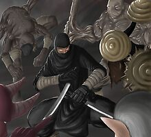 one against many by korosukun
