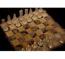 Tactic and Strategy Photographic Print