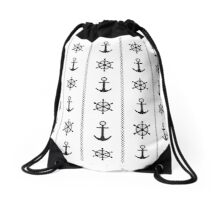 Anchor and timon Drawstring Bag
