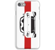 AP2 with red stripe iPhone Case/Skin