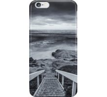 DOWN THE STEPS iPhone Case/Skin
