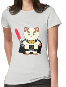 PuppyCat Vader Womens Fitted T-Shirt