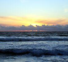 Hermosa Beach Sunset 1231 by eruthart