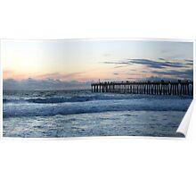 Hermosa Beach Pier 1240 Poster