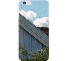 Bright Day Blue Cottage Gothenburg iPhone Case/Skin
