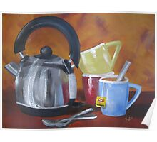 Still life - Time for tea Poster