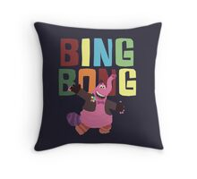 Bing Bong with colors! Throw Pillow