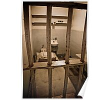Prison Cell Close-up Poster