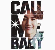 EXO Baekhyun 'Call Me Baby' Kids Tee