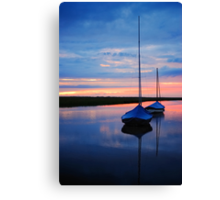 Blakney Boats Canvas Print