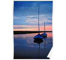 Blakney Boats Poster