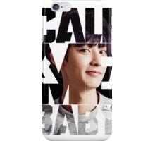 EXO Chanyeol 'Call Me Baby' iPhone Case/Skin