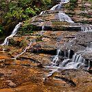 Katoomba Creek Cascades by Samuel Gundry