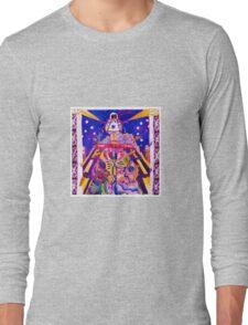 Blue Star Buffalo Girl Long Sleeve T-Shirt