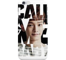 EXO Chen 'Call Me Baby' iPhone Case/Skin