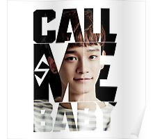 EXO Chen 'Call Me Baby' Poster