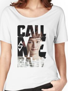 EXO Chen 'Call Me Baby' Women's Relaxed Fit T-Shirt