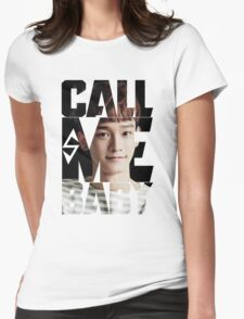 EXO Chen 'Call Me Baby' Womens Fitted T-Shirt