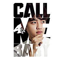 EXO D.O. 'Call Me Baby' Photographic Print