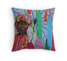 Pierced. Throw Pillow