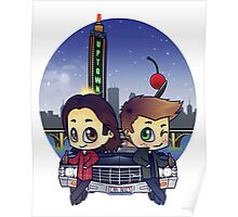 Winchesters in Minneapolis Poster